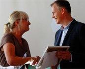 Landshövdingen dela ut SKAPA utvecklingspris till Anders Jönsson
